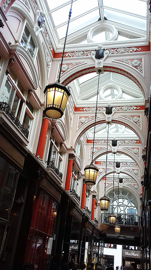 A tour with Cindy Lawford inside the Royal Arcade Old Bond Street London