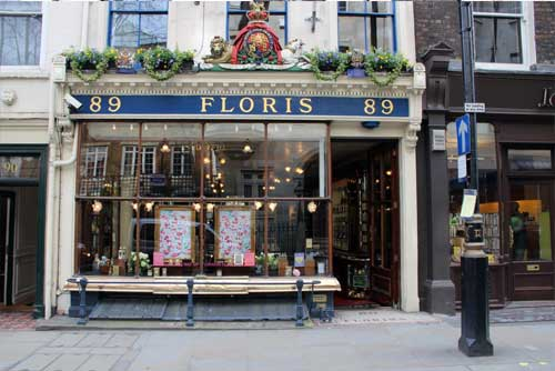 Floris Shop Front on the Jermyn Street Tour