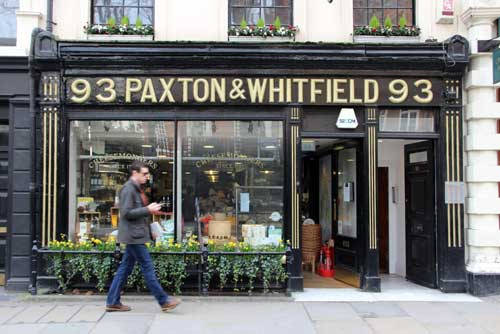 Paxto and Whitfield on the Jermyn Street Tour